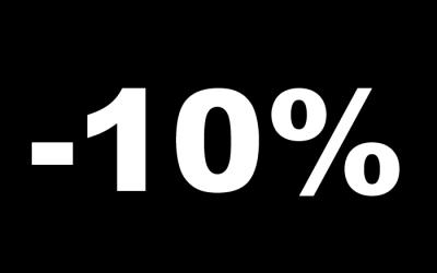 Дарим СКИДКУ 10%